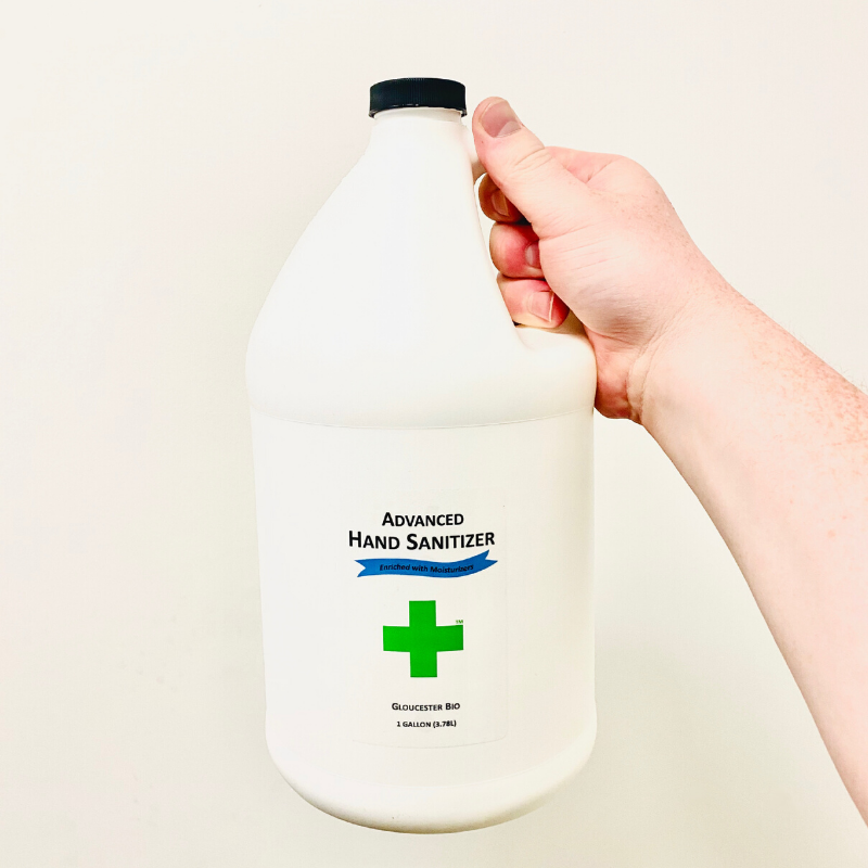 1 Gallon Advanced Hand sanitizer Refill